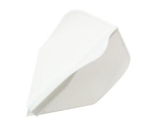 ダーツフライト【ディークラフト】ジャイロスリー 右回転 ホワイト