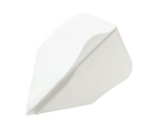 ダーツフライト【ディークラフト】ジャイロスリー 左回転 ホワイト