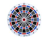 ダーツボード【ブリッツァー】BD-21 ソフトボード 15.5インチ