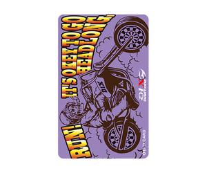 ダーツゲームカード【D-1X】NO.22 バイク
