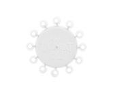 ダーツ雑貨【ウィンモー】トライデント 180 ホワイト No.8806