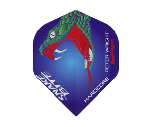 ダーツフライト【レッドドラゴン】スネークバイト ピーター・ライトモデル ハードコア F6161