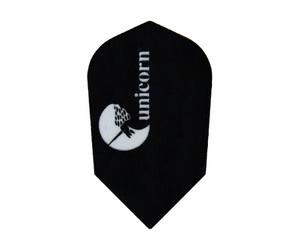 ダーツフライト【ユニコーン】マエストロ 100 ユニコーンロゴ ブラック No.77689