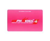 ダーツゲームカード【フェニックス】NO.1088 VSフェニックスS4ロゴ ピンク