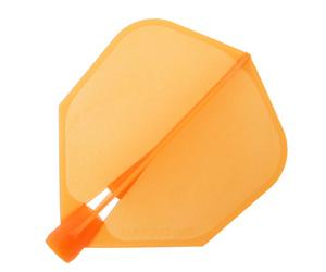 ダーツフライト【ハローズ】クリック シェイプ オレンジ
