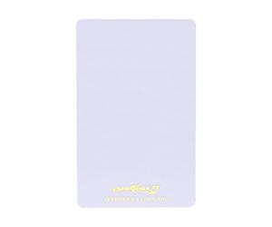 ダーツゲームカード【フェニックス】VSPHOENIX S4 ホワイト無地 縦向き (ゴールド箔押し)