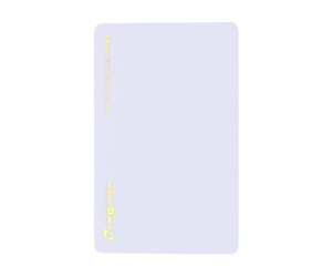 ダーツゲームカード【フェニックス】VSPHOENIX S4 ホワイト無地 横向き (ゴールド箔押し)