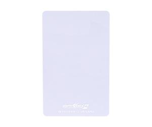 ダーツゲームカード【フェニックス】VSPHOENIX S4 ホワイト無地 縦向き (シルバー箔押し)