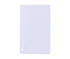 ダーツゲームカード【フェニックス】VSPHOENIX S4 ホワイト無地 横向き (シルバー箔押し)