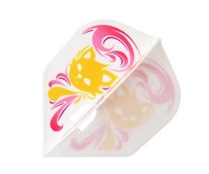 ダーツフライト【フライトエル×モンスター】森田真結子モデル MAYO ver.3 シェイプ ホワイトMIX