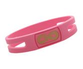 ダーツスポーツアクセサリ【インフィニティバランス】ブレスレット ゴールドバージョン ピンク