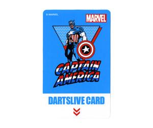 ダーツゲームカード【ダーツライブ】NO.1628 マーベルヒーロー3rd キャプテンアメリカ