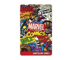 ダーツゲームカード【ダーツライブ】NO.1638 マーベルヒーロー3rd マーベルコミックス ヒーローズ