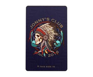 ダーツゲームカード【ダーツライブ】ジョニーズクラブ ブルー