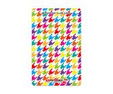 ダーツゲームカード【フェニックス】NO.2014 カラフル千鳥格子