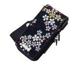 ダーツケース【カメオ】ガーメント ジャパネスク2 紺桜