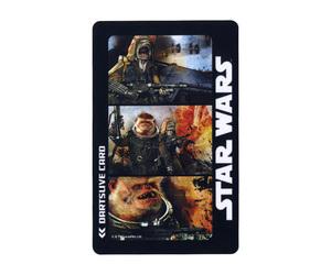 ダーツゲームカード【ダーツライブ】NO.1655 スターウォーズ 異星人種 3カット