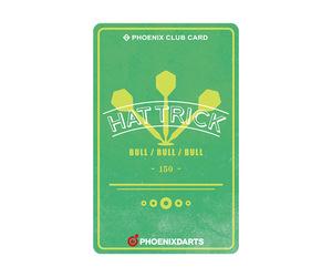 ダーツゲームカード【フェニックス】NO.2023 ハットトリック(表紙風)