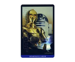 ダーツゲームカード【ダーツライブ】NO.1676 スターウォーズ エピソード4 C-3PO&R2-D2