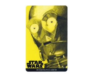 ダーツゲームカード【ダーツライブ】NO.1677 スターウォーズ エピソード4 C-3PO アップ