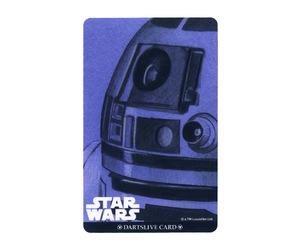ダーツゲームカード【ダーツライブ】NO.1678 スターウォーズ エピソード4 R2-D2 アップ