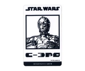 ダーツゲームカード【ダーツライブ】NO.1679 スターウォーズ エピソード4 C-3PO ホワイト