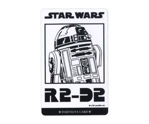 ダーツゲームカード【ダーツライブ】NO.1680 スターウォーズ エピソード4 R2-D2 ホワイト