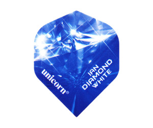 ダーツフライト【ユニコーン】オーセンティック.125 イアン・ホワイト ダイアモンド ビッグウィング No.68664