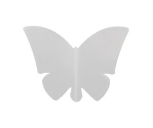 ダーツフライト【リバティフライト】バタフライ クリア