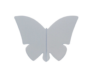 ダーツフライト【リバティフライト】バタフライ グレー
