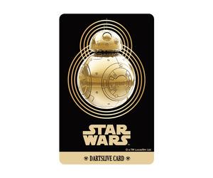 ダーツゲームカード【ダーツライブ】NO.1709 スターウォーズ BB-8 ゴールド