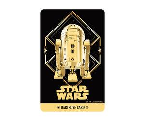 ダーツゲームカード【ダーツライブ】NO.1710 スターウォーズ R2-D2 ゴールド