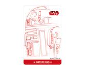ダーツゲームカード【ダーツライブ】NO.1712 スターウォーズ R2-D2 ホワイト/レッド