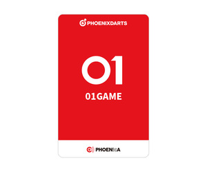 ダーツゲームカード【フェニックス】NO.2042 01GAME