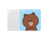 ダーツゲームカード【フェニックス】フェニカ LINE FRIENDS ブラウン