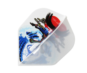 ダーツフライト【フライトエル】村松治樹モデル HAL ver.4 シェイプ ホワイト