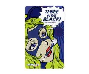 ダーツゲームカード【ダーツライブ】NO.1720 THREE IN THE BLACK