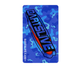 ダーツゲームカード【ダーツライブ】NO.1722 迷彩ブルー