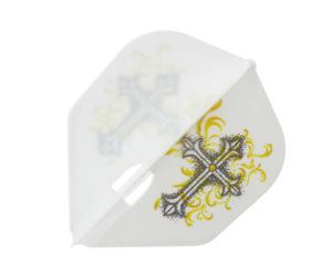 ダーツフライト【フライトエル】星野光正モデル HOSHINO ver.5 シェイプ ホワイト