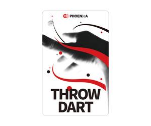 ダーツゲームカード【フェニックス】NO.2052 THROW DART