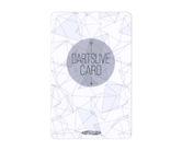 ダーツゲームカード【ダーツライブ】NO.1752 ホワイトパターン