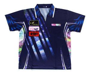 ダーツアパレル【コスモダーツ】レプリカダーツシャツ Galaxyタイプ 2018 S