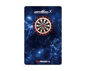 ダーツゲームカード【フェニックス】フェニカ NO.2057 ネイビーポリゴン