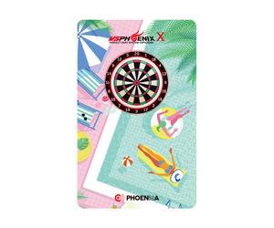 ダーツゲームカード【フェニックス】フェニカ NO.2061 プールサイド