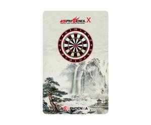 ダーツゲームカード【フェニックス】フェニカ NO.2066 山水画