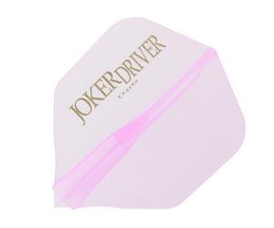 ダーツフライト【ジョーカードライバー】零-ZERO- JOKERDRIVERロゴ入り プラクティス シェイプ ピンク