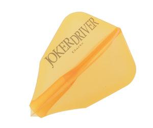 ダーツフライト【ジョーカードライバー】零-ZERO- JOKERDRIVERロゴ入り プラクティス FF オレンジ