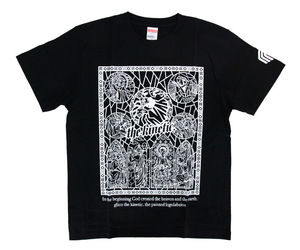 アパレル【マスターストローク】Tシャツ 松本康寿 グリコ ver.1 ブラック XS