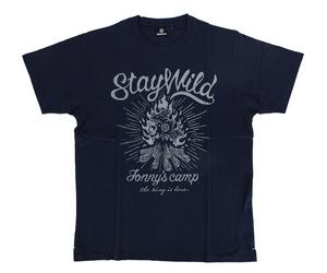 アパレル【シェード】Jonny's Camp Tシャツ 安食賢一モデル ネイビー XL