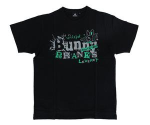 アパレル【シェード】Bunny PRANKS Tシャツ 佐々木沙綾香モデル ブラック&グリーン XS